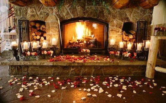 romantic-fireplace